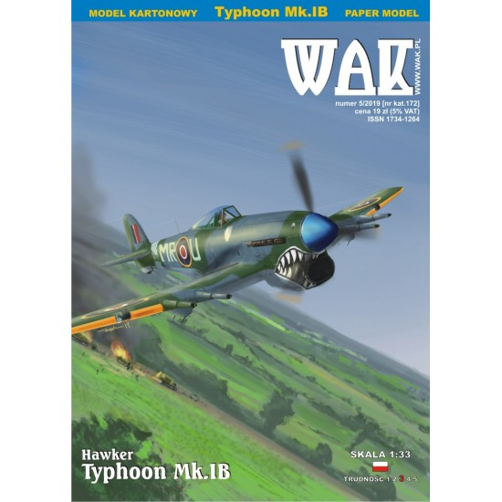 Hawker Typhoon Mk. IB (WAK 5/2019)