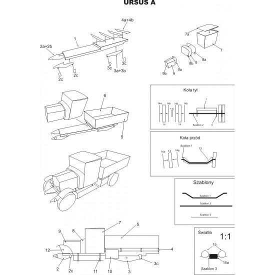 URSUS A i armaty p-panc. 37mm wz. 36 (WAK 6-7/2019)