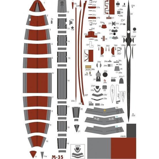 Okręty podwodne typu M M-35 i M-104 (WAK 2/2016)