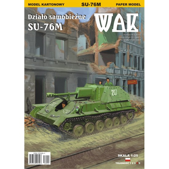Działo samobieżne SU-76M (WAK 4-5/2018)