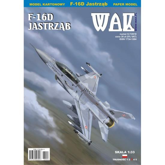F-16D Jastrząb (WAK 6-7/2018)