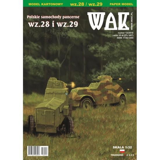 Polskie samochody pancerne (WAK 12/2018)